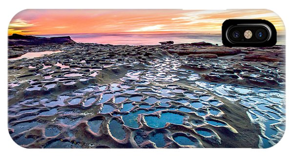 La Jolla Potholes IPhone Case