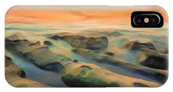 Texture iPhone Case - La Jolla Reimagined by Joel Olives