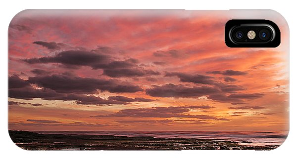 La Jolla Sunset 1 IPhone Case