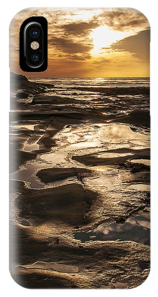 La Jolla Sunset 3 IPhone Case