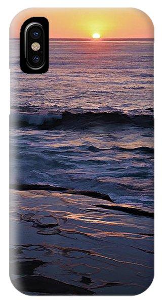 La Jolla Sunset Reflection IPhone Case