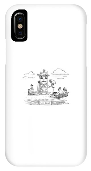 L.a. Law IPhone Case