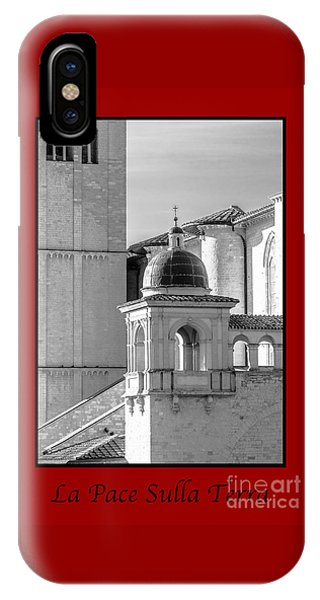 La Pace Sulla Terre With Basilica Details IPhone Case
