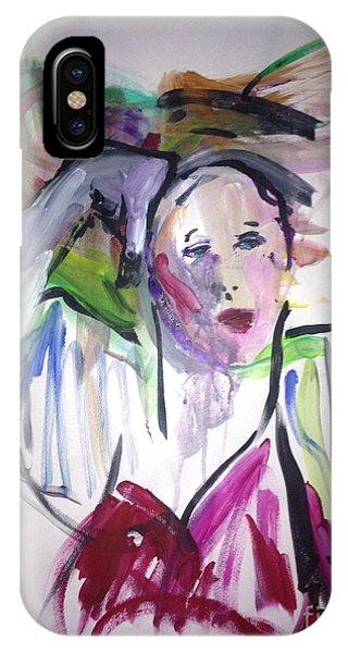 La Parisian Phone Case by Elaine Schloss