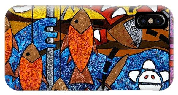 La Pesca Virgen De Un Hombre Honrado IPhone Case