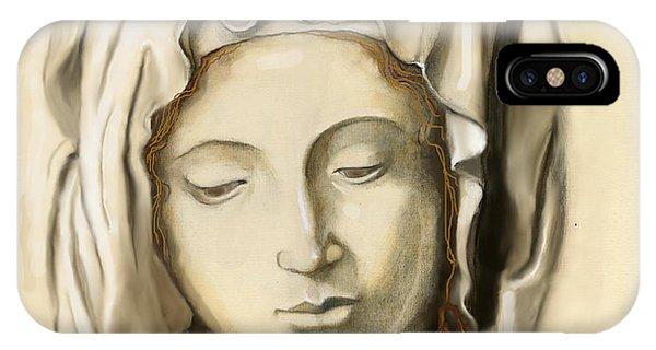 La Pieta 2 IPhone Case