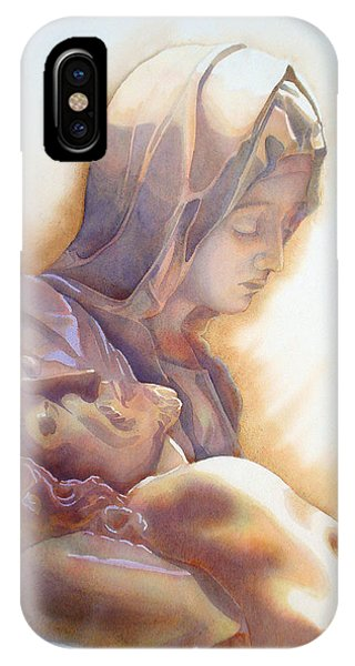 La Pieta By Michelangelo IPhone Case