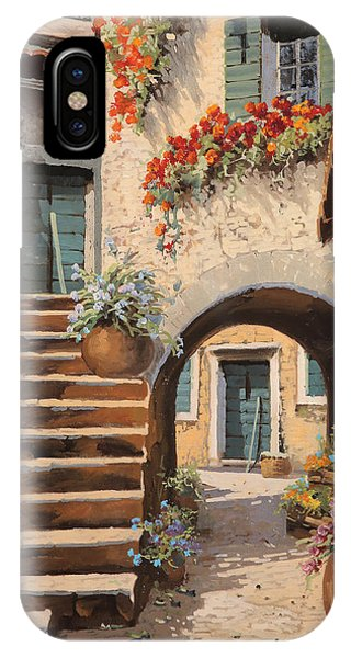 Arched iPhone Case - La Porta Dopo L'arco by Guido Borelli