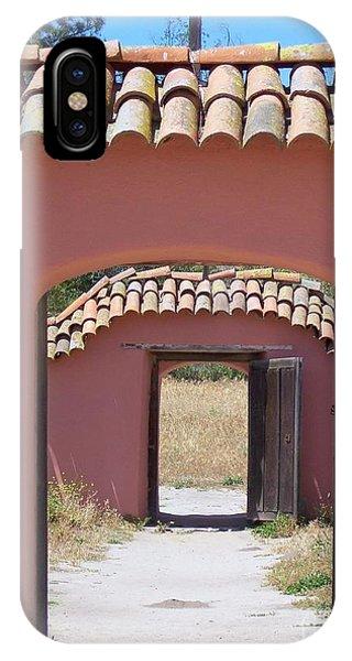 La Purisima Doorways IPhone Case