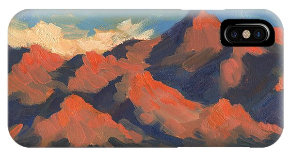 Bear Creek iPhone Case - La Quinta Mountains Morning by Diane McClary