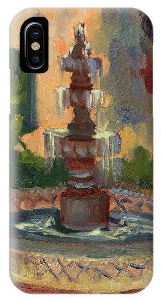 La Quinta Resort Fountain IPhone Case
