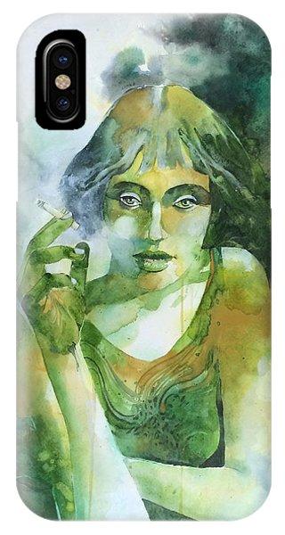 La Ragazza Che Fumava Gauloises Phone Case by Alessandro Andreuccetti