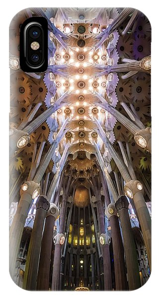 Spain iPhone Case - La Sagrada Famila?a by Ole Moberg Steffensen
