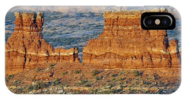 La Sal Mountains View Point Arches National Park IPhone Case