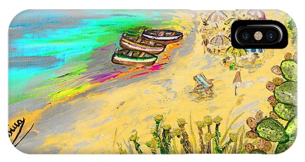 La Spiaggia IPhone Case