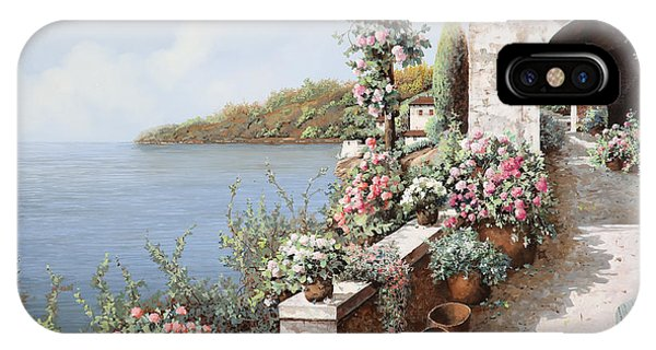 Arched iPhone Case - La Terrazza by Guido Borelli