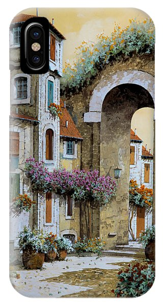 Arched iPhone Case - La Torre by Guido Borelli