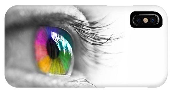 La Vie En Couleurs IPhone Case