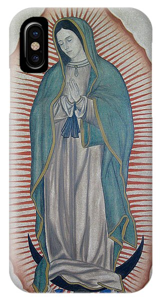 La Virgen De Guadalupe IPhone Case