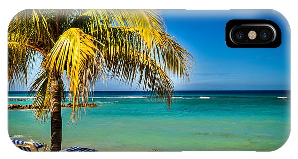 Labadee Beach Relaxing IPhone Case