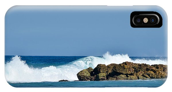 Labadee Ocean Waves Haiti IPhone Case