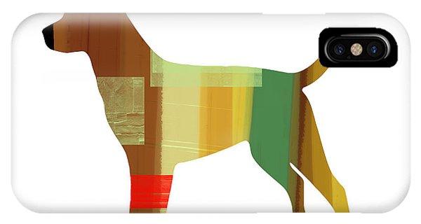 Retriever iPhone Case - Labrador Retriever by Naxart Studio
