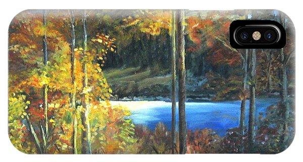 Lac Fortune Gatineau Park Quebec IPhone Case