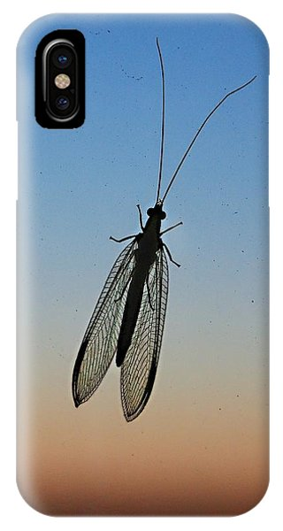Lacewing Phone Case by Carl Engman