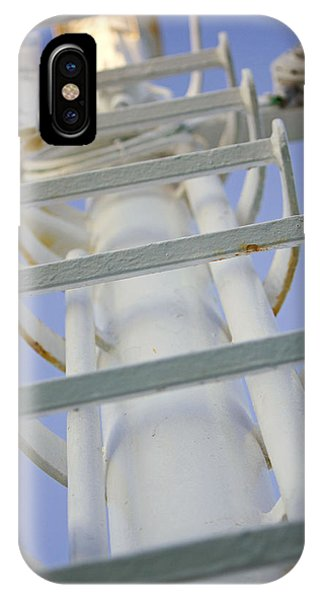 Ladder On Norwegian Dawn IPhone Case