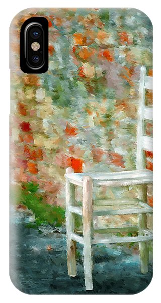 Ladder Back Chair IPhone Case