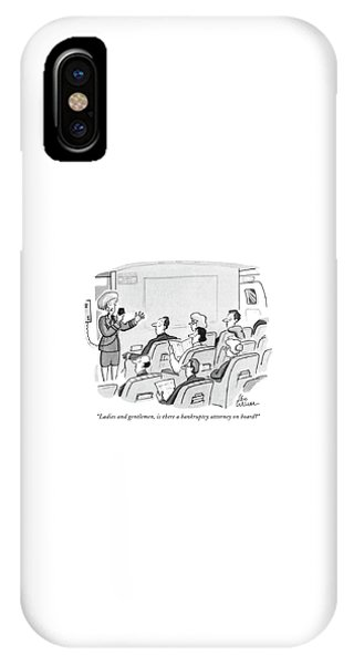 Ladies And Gentlemen IPhone Case