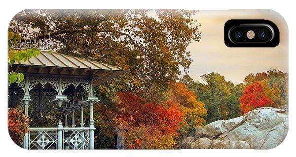 Ladies Pavilion In Autumn IPhone Case