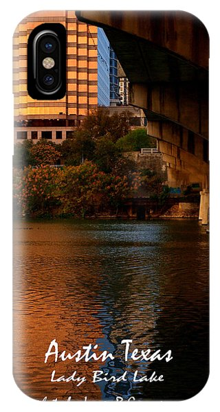 Lady Bird Lake In Fall IPhone Case