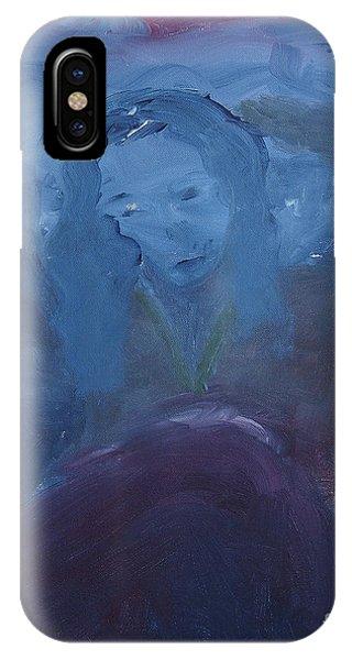 Lady Blue IPhone Case