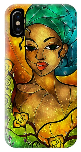 Lady Creole IPhone Case