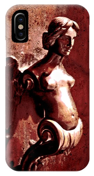 Lady Door Knocker IPhone Case