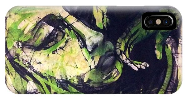 Lady In Moss IPhone Case