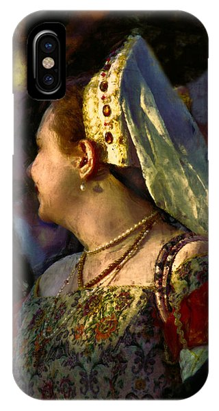 Lady Isabel In Conversation IPhone Case