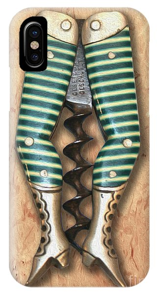 Bar iPhone Case - Lady Legs Corkscrew Painting by Jon Neidert