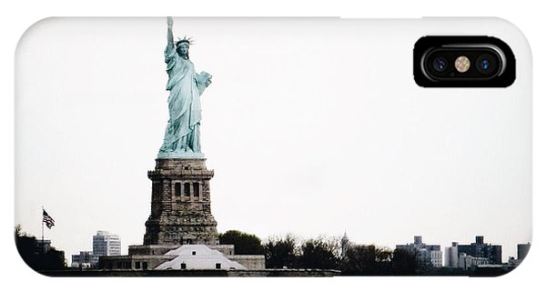 New York City iPhone Case - Lady Libery by Natasha Marco