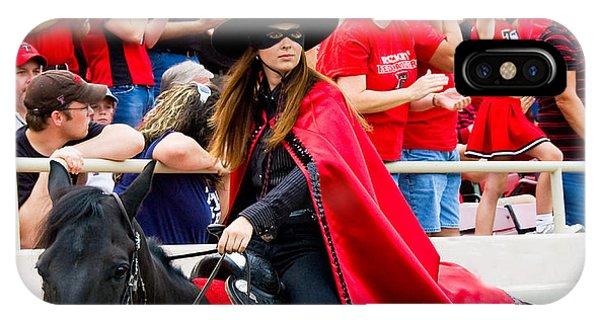 Lady Masked Rider Phone Case by Mae Wertz