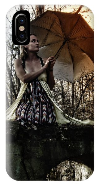 Lady Rain IPhone Case