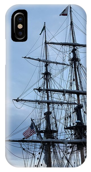 Lady Washington's Masts IPhone Case
