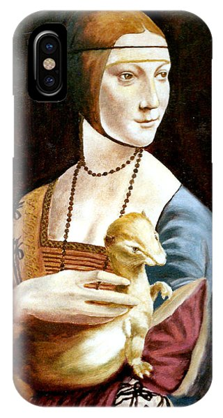 Lady With An Ermine IPhone Case