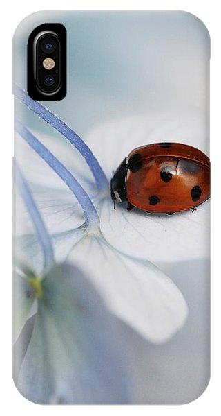 Ladybug Phone Case by Ellen Van Deelen