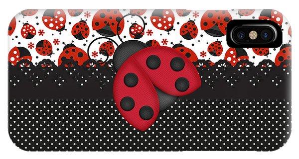 Ladybug Mood  IPhone Case