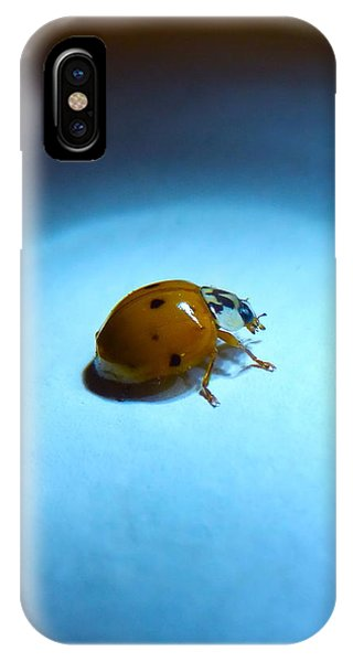 Ladybug Under Blue Light IPhone Case