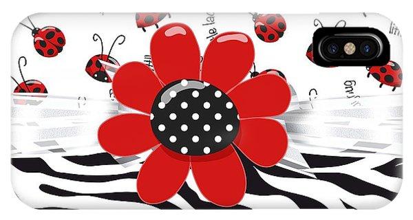 Ladybug Wild Thing IPhone Case