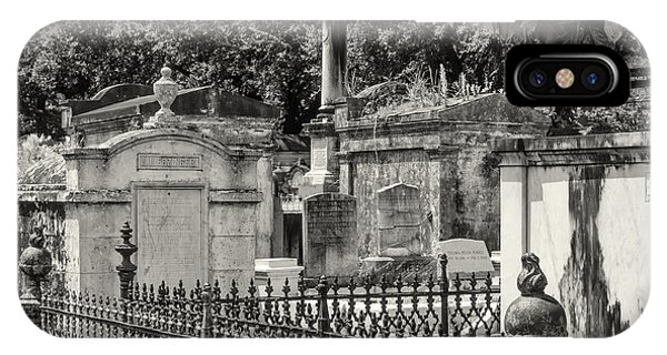 Lafayette Cemetery No. 1 IPhone Case