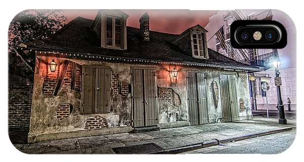 Lafitte's Blacksmith Shop IPhone Case